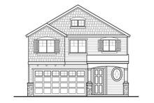 House Plan Design - Country Exterior - Front Elevation Plan #569-33