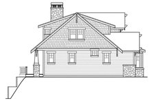 Dream House Plan - Craftsman Exterior - Other Elevation Plan #124-880