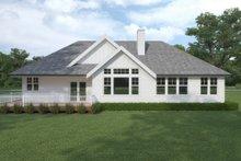 Dream House Plan - Craftsman Exterior - Rear Elevation Plan #1070-109