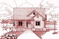 Farmhouse Style House Plan - 3 Beds 2 Baths 1720 Sq/Ft Plan #79-232 Exterior - Front Elevation