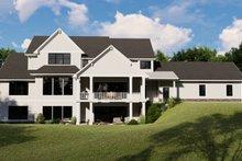 Architectural House Design - Farmhouse Exterior - Rear Elevation Plan #1064-99