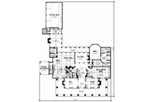 Southern Floor Plan - Main Floor Plan Plan #20-2173