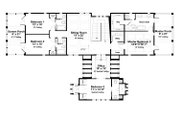 Beach Style House Plan - 5 Beds 5.5 Baths 3480 Sq/Ft Plan #443-15 Floor Plan - Upper Floor Plan