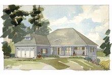 Architectural House Design - Craftsman Exterior - Front Elevation Plan #928-82