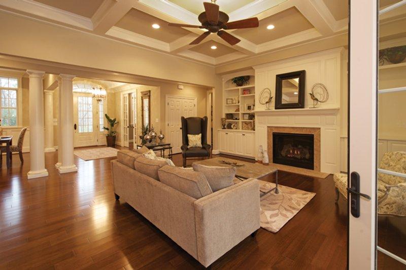 Traditional Interior - Family Room Plan #927-958 - Houseplans.com