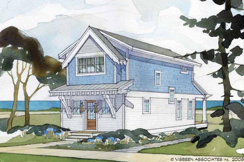 Craftsman Exterior - Rear Elevation Plan #928-174 - Houseplans.com