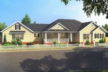 Home Plan - Ranch Exterior - Front Elevation Plan #513-2188