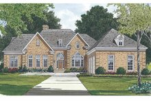Ranch Exterior - Front Elevation Plan #453-476