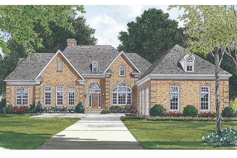 Ranch Exterior - Front Elevation Plan #453-476 - Houseplans.com