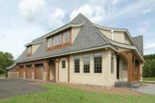 House Plan Design - European Exterior - Other Elevation Plan #928-28