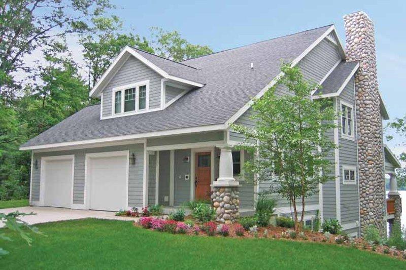 Bungalow Exterior - Front Elevation Plan #928-195 - Houseplans.com