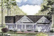 Craftsman Style House Plan - 3 Beds 2 Baths 1720 Sq/Ft Plan #316-260