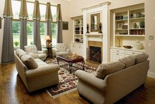 Country Interior - Family Room Plan #927-169