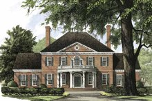 House Plan Design - Classical Exterior - Front Elevation Plan #137-301