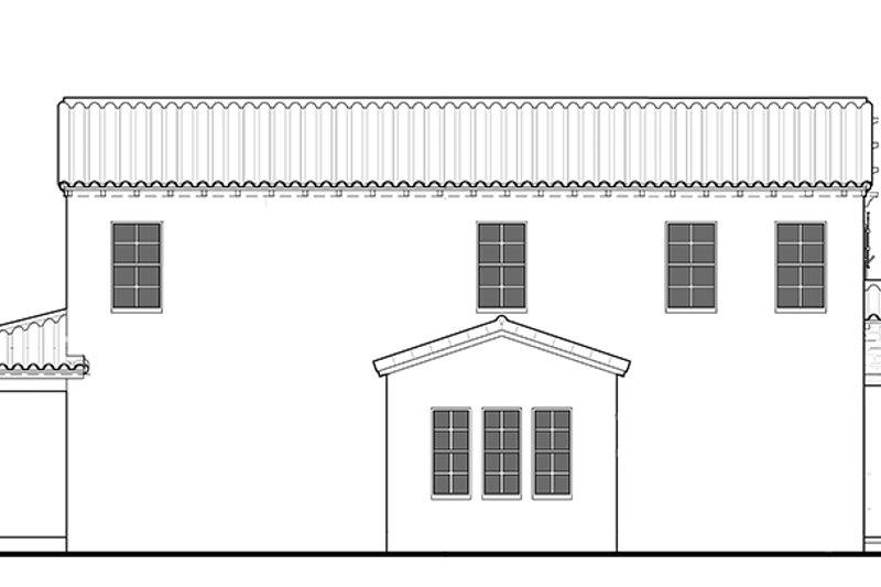 Mediterranean Exterior - Other Elevation Plan #1058-78 - Houseplans.com