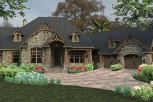 Architectural House Design - Craftsman Exterior - Front Elevation Plan #120-246