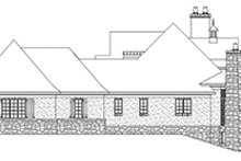 European Exterior - Other Elevation Plan #929-929