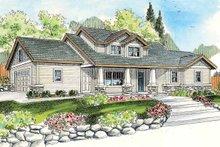 Home Plan - Craftsman Exterior - Front Elevation Plan #124-772