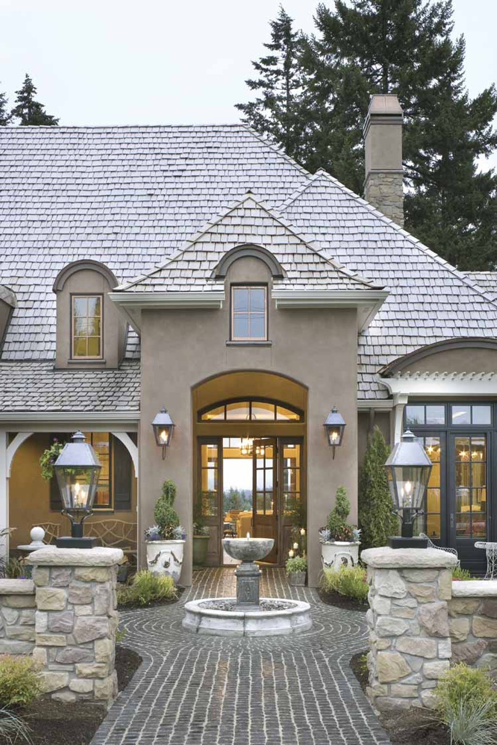 European style house plan 4 beds 3 5 baths 4352 sq ft for Www eplans