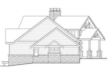 Architectural House Design - Craftsman Exterior - Other Elevation Plan #124-1148