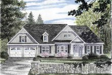 House Plan Design - Craftsman Exterior - Front Elevation Plan #316-266