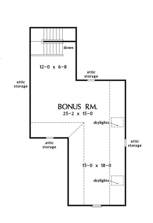European Floor Plan - Other Floor Plan Plan #929-939