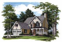 Home Plan - Traditional Exterior - Front Elevation Plan #927-194