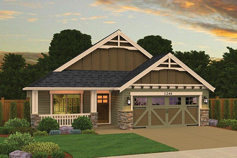 House Plan Design - Craftsman Exterior - Front Elevation Plan #943-47