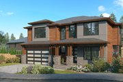 Contemporary Style House Plan - 4 Beds 3 Baths 3051 Sq/Ft Plan #1066-130