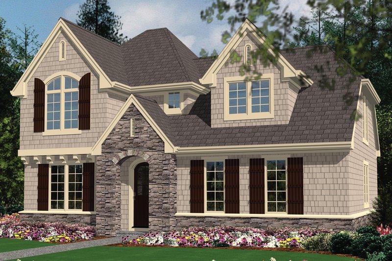 Dream House Plan - European Exterior - Other Elevation Plan #48-558
