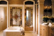 Mediterranean Style House Plan - 4 Beds 5.5 Baths 6524 Sq/Ft Plan #930-325 Interior - Master Bathroom
