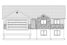 Home Plan - Ranch Exterior - Front Elevation Plan #1060-14
