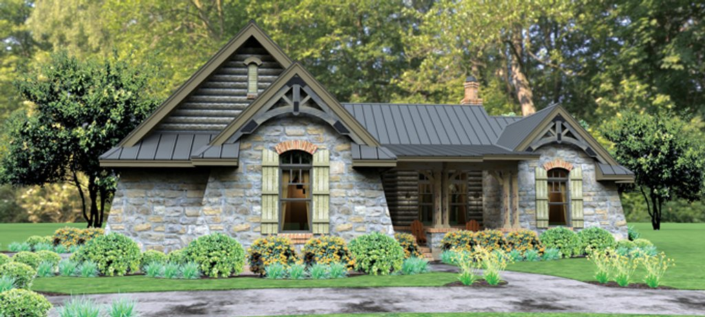Bungalow style house plan 3 beds 2 5 baths 2234 sq ft for Casa floor