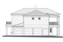 House Plan Design - Classical Exterior - Other Elevation Plan #1058-83