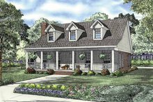 House Plan Design - Country Exterior - Front Elevation Plan #17-2845