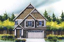 Craftsman Exterior - Front Elevation Plan #509-315