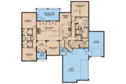 Ranch Style House Plan - 2 Beds 2.5 Baths 2409 Sq/Ft Plan #923-94 Floor Plan - Main Floor Plan