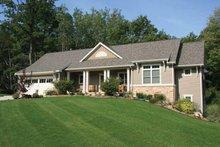 House Design - Craftsman Exterior - Front Elevation Plan #928-142