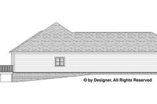 Home Plan - Traditional Exterior - Other Elevation Plan #1057-4