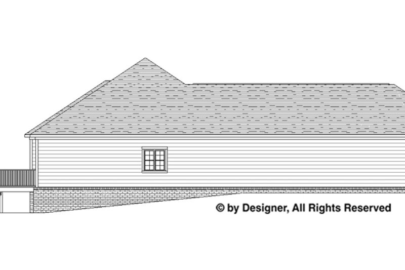 Traditional Exterior - Other Elevation Plan #1057-4 - Houseplans.com