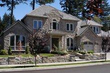 Dream House Plan - European Exterior - Front Elevation Plan #48-618