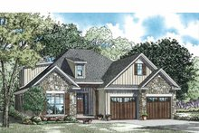 Home Plan - Country Exterior - Front Elevation Plan #17-3357