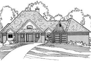 Home Plan - Southern Exterior - Front Elevation Plan #31-123