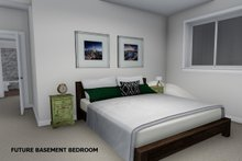House Plan Design - Future Finished Basement Bedroom
