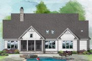 Farmhouse Style House Plan - 3 Beds 2 Baths 1974 Sq/Ft Plan #929-1099 Exterior - Rear Elevation