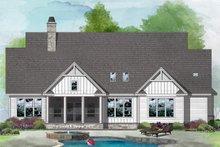 Farmhouse Exterior - Rear Elevation Plan #929-1099