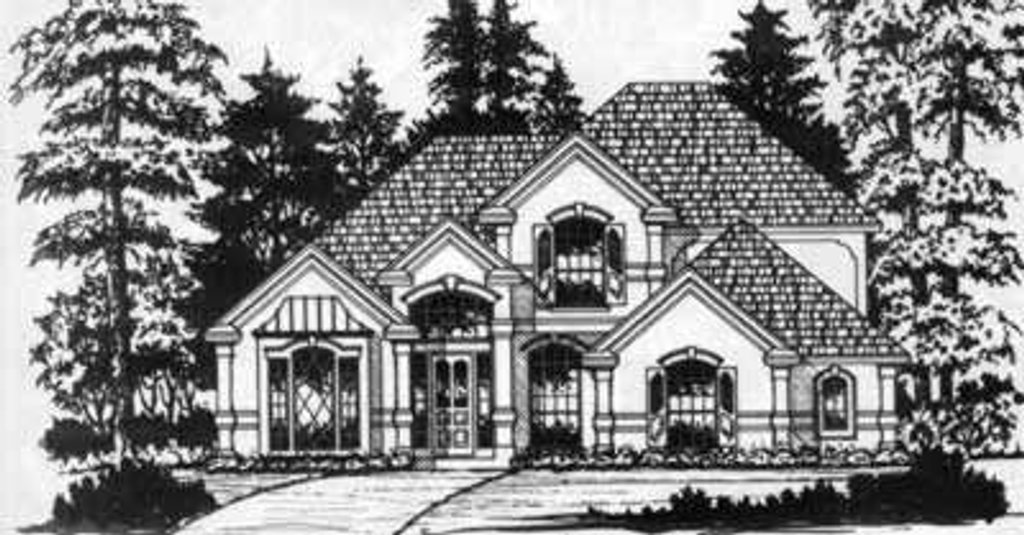 house for plans european style house plan 4 beds 2 5 baths 2500 sq ft 12443