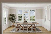 Dream House Plan - Tudor Interior - Dining Room Plan #1079-3