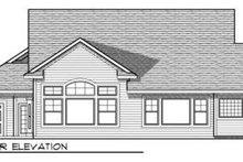 Bungalow Exterior - Rear Elevation Plan #70-708