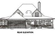 Farmhouse Style House Plan - 4 Beds 2.5 Baths 2817 Sq/Ft Plan #14-205 Exterior - Rear Elevation